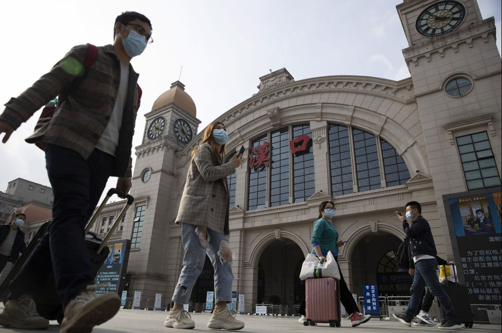 China Ends Coronavirus Lockdown in Wuhan 1