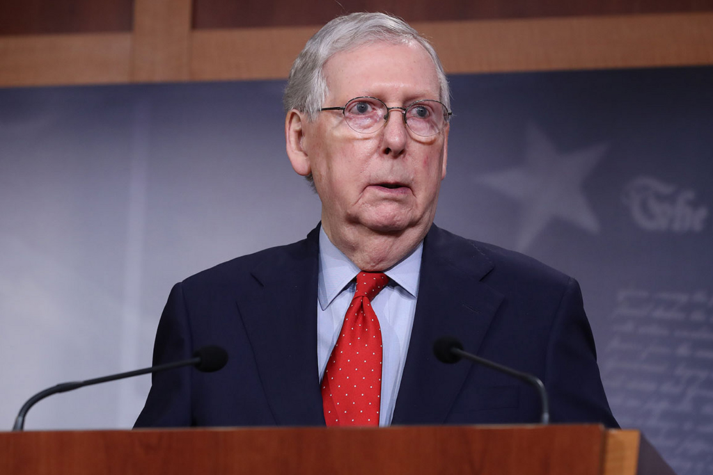Senate Majority Leader McConnell Suggests States Use Bankruptcy Over Coronavirus Aid 1